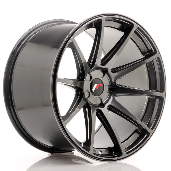 JR Wheels JR11 20x12 ET20-42 5H BLANK Hyper Black