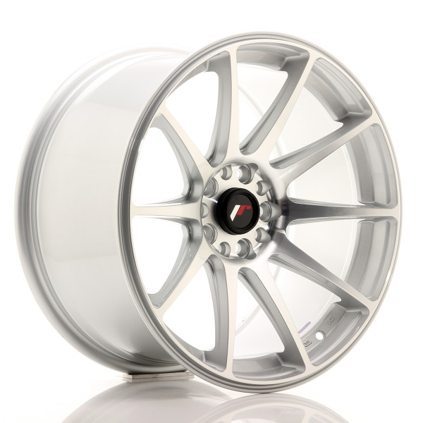 JR Wheels JR11 18x9,5 ET30 5x112/114 Silver Machined Face