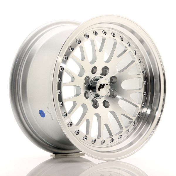 JR Wheels JR10 15x8 ET20 4x100/108 Silver Machined Face
