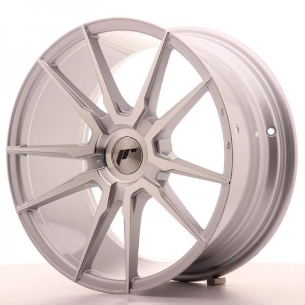 JR Wheels JR21 18x8,5 ET20-40 BLANK Silver Machined Face