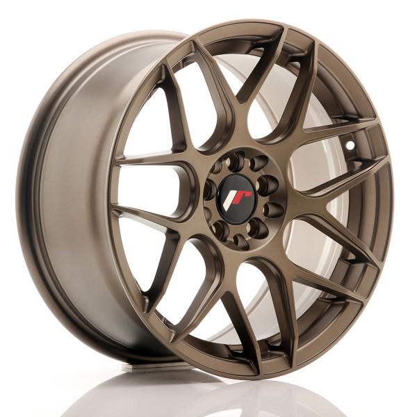 JR Wheels JR18 17x8 ET25 4x100/108 Matt Bronze