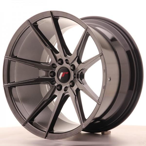 JR Wheels JR21 19x11 ET25 5x114/120 Hyper Black