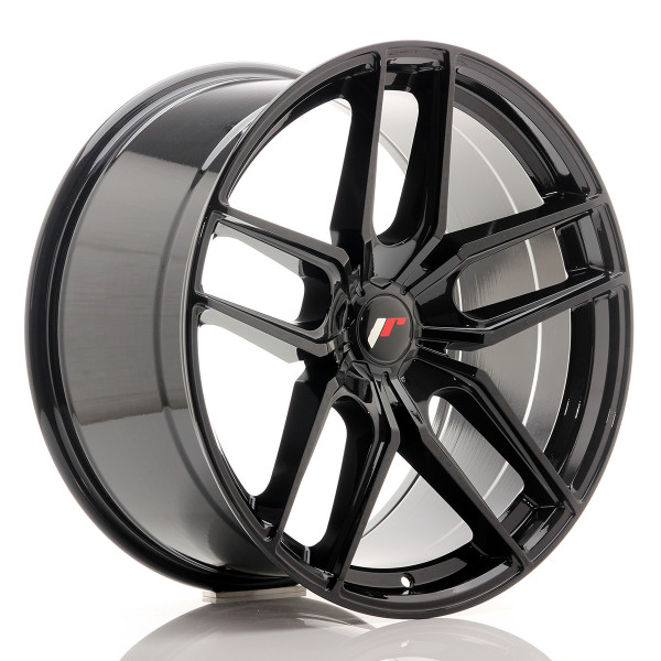 JR Wheels JR25 20x10 ET40 5H BLANK Gloss Black