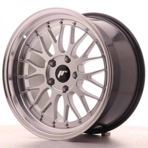 JR Wheels JR23 18x9,5 ET25 5x120 Hyper Silver w/Machined Lip