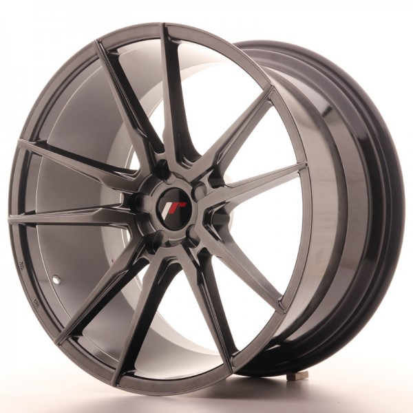 JR Wheels JR21 21x11 ET15-55 5H BLANK Hyper Black