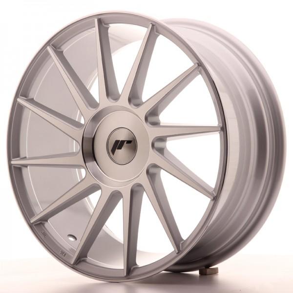 JR Wheels JR22 18x7,5 ET35-42 BLANK Silver Machined Face