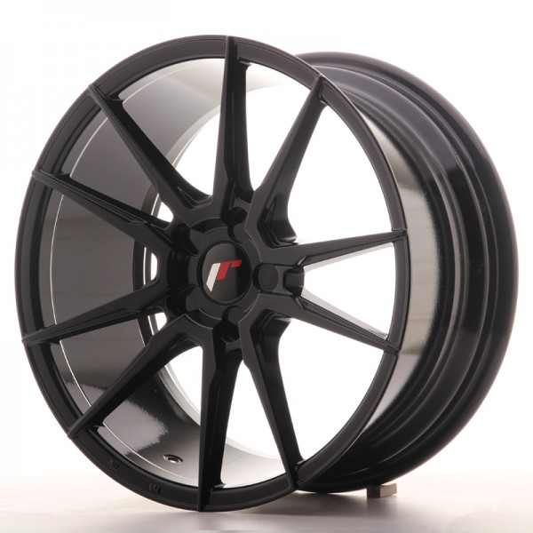 Japan Racing JR21 18x8,5 ET40 5H Blank GlossyBlack