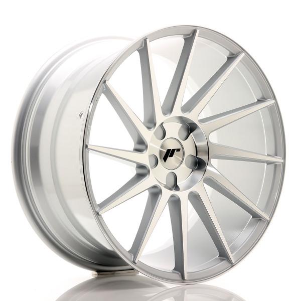 JR Wheels JR22 20x10 ET20-40 5H BLANK Silver Machined Face