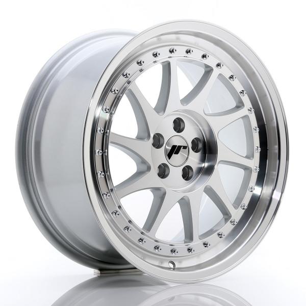 JR Wheels JR26 18x8,5 ET35 5x100 Silver Machined Face