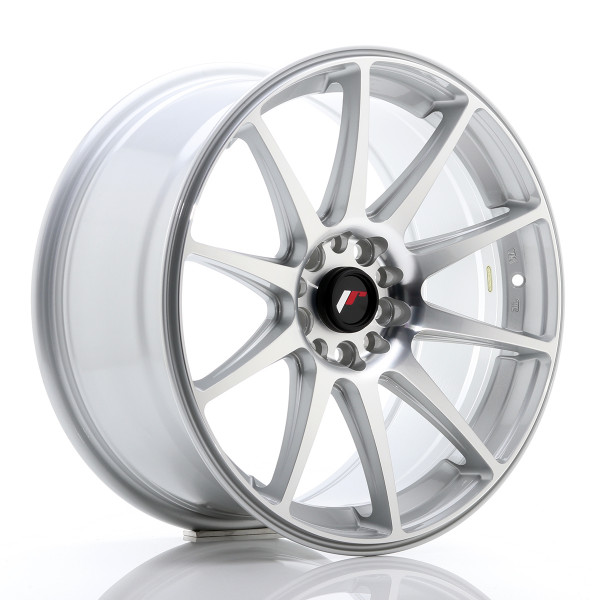JR Wheels JR11 18x8,5 ET40 5x112/114 Silver Machined Face