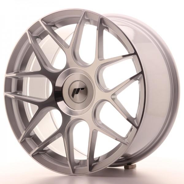 JR Wheels JR18 18x8,5 ET25-45 BLANK Silver Machined Face