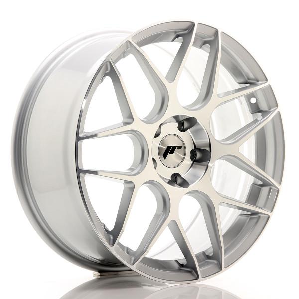 JR Wheels JR18 19x8,5 ET35 5x120 Silver Machined Face