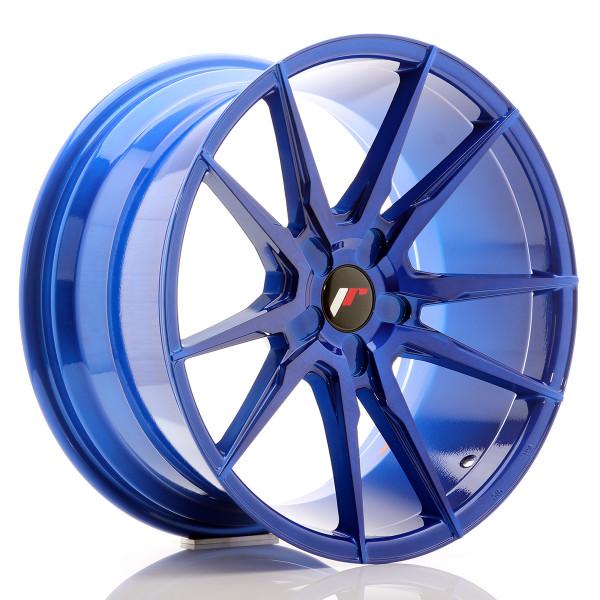 JR Wheels JR21 19x9,5 ET20-40 5H BLANK Platinum Blue
