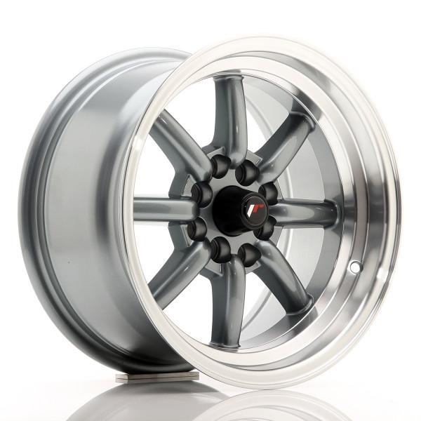 JR Wheels JR19 15x8 ET0 4x100/114 Gun Metal