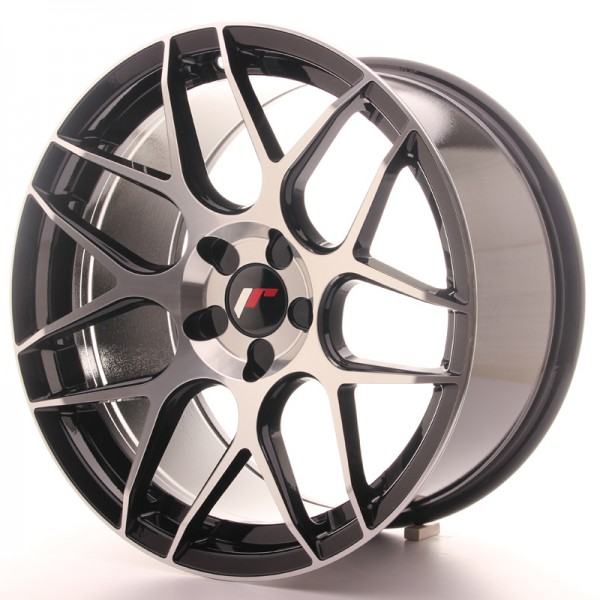 Japan Racing JR18 18x9,5 ET30-40 5H Blank Black Ma