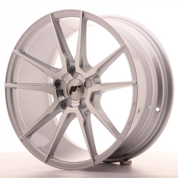 Japan Racing JR21 18x8,5 ET40 5H Blank Silver Mach