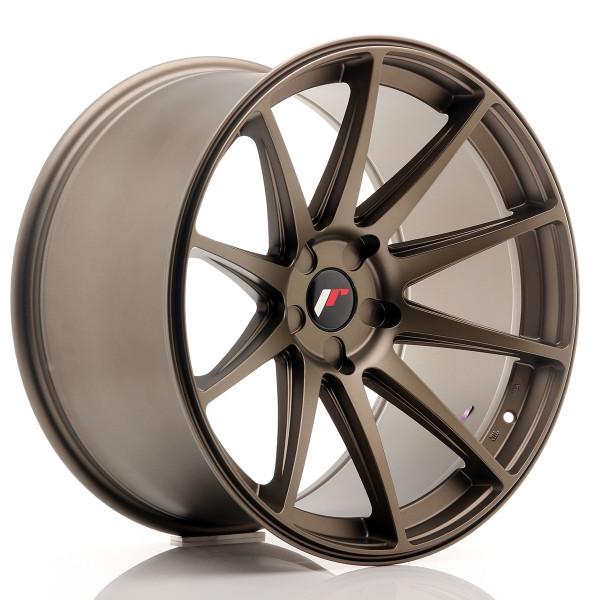 JR Wheels JR11 20x11 ET20-30 5H BLANK Matt Bron