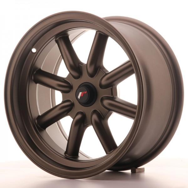 JR Wheels JR19 16x8 ET-20-0 BLANK Matt Bronze