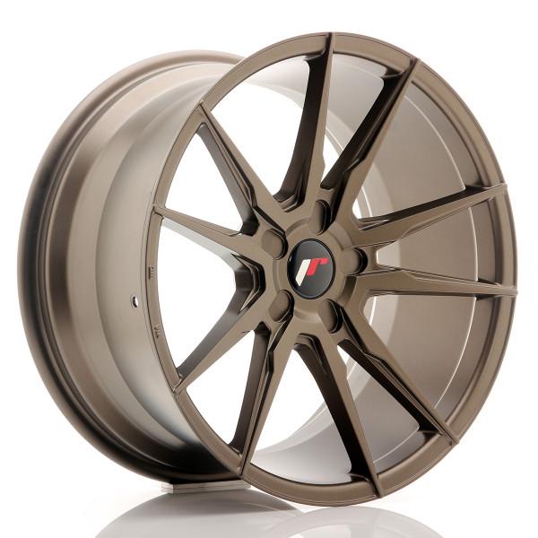 JR Wheels JR21 19x9,5 ET20-40 5H BLANK Matt Bronze