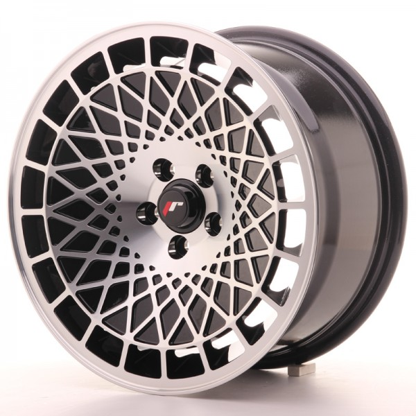 Japan Racing JR14 16x8 ET25 Blank Black Machined