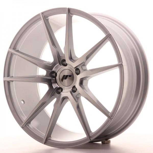 JR Wheels JR21 20x8,5 ET40 5x112 Silver Machined Face