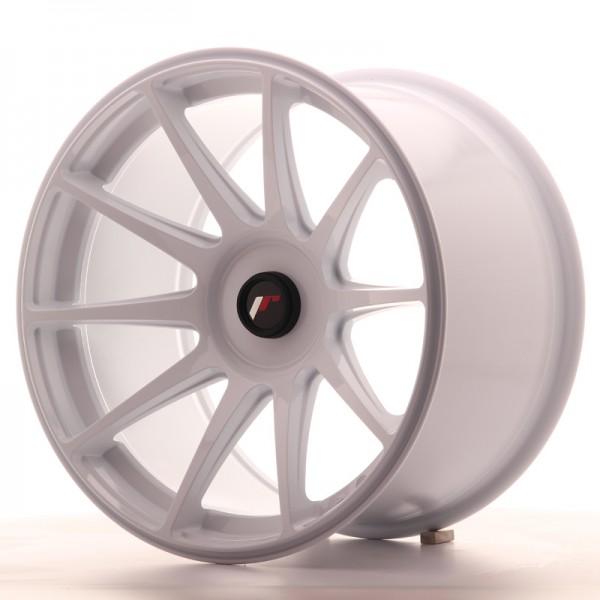 JR Wheels JR11 18x10,5 ET22-25 BLANK White