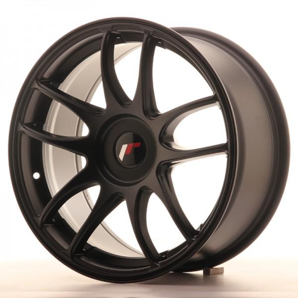 JR Wheels JR29 17x8 ET20-38 BLANK Matt Black