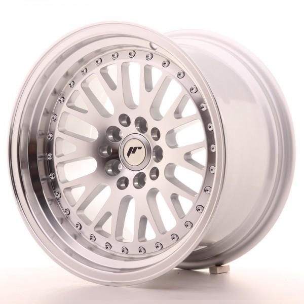 JR Wheels JR10 16x9 ET10 4x100/114 Silver Machined Face