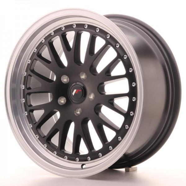 JR Wheels JR10 18x8,5 ET40-45 BLANK Matt Black w/Machined Lip