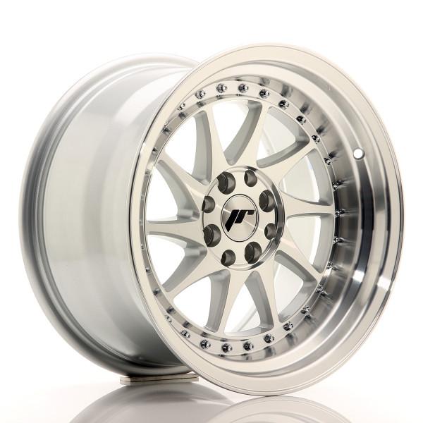 JR Wheels JR26 16x9 ET20 4x100/108 Silver Machined Face