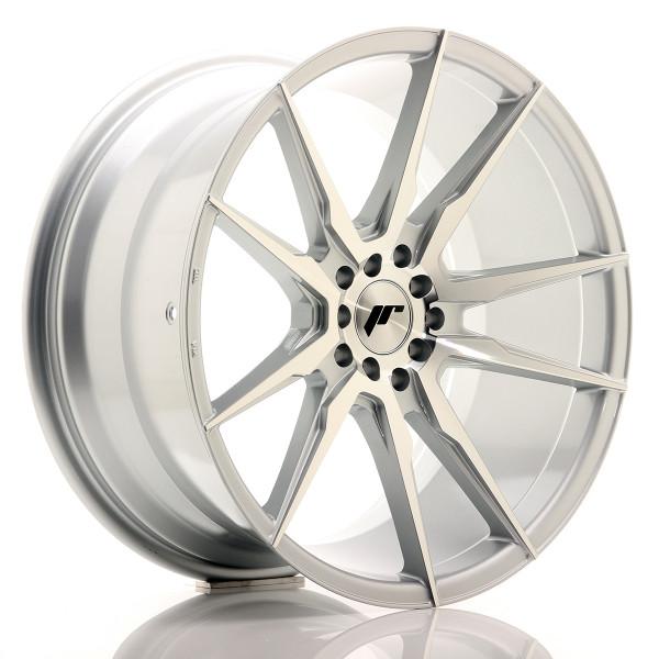 JR Wheels JR21 19x9,5 ET35 5x100/120 Silver Machined Face