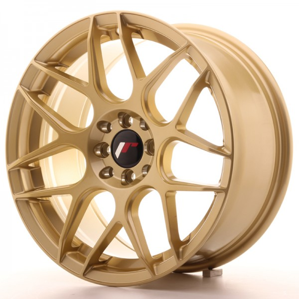 JR Wheels JR18 17x8 ET35 4x100/114 Gold