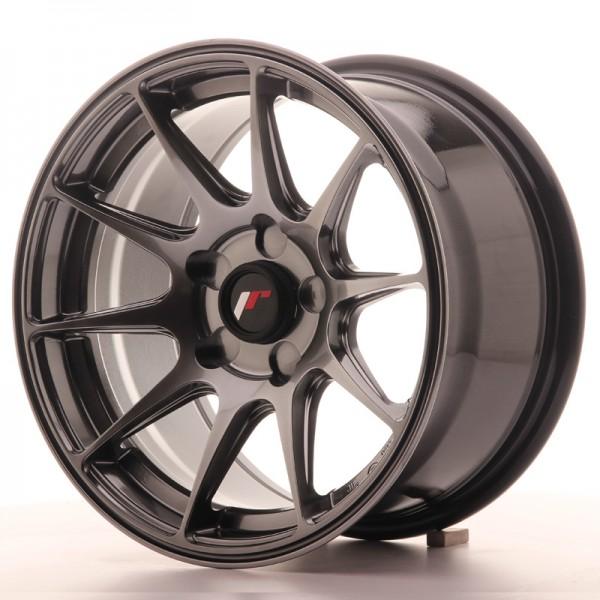 JR Wheels JR11 15x8 ET25 5H BLANK Dark Hyper Black