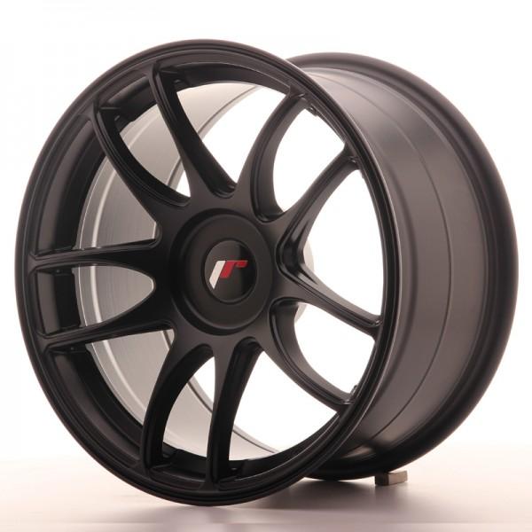 JR Wheels JR29 17x9 ET20-38 BLANK Matt Black