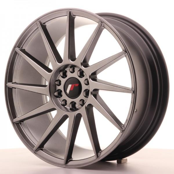 JR Wheels JR22 18x7,5 ET35 5x100/120 Hyper Black