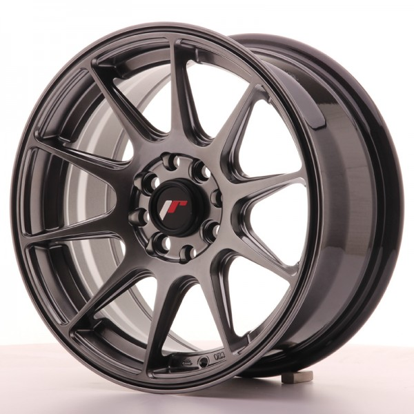 JR Wheels JR11 15x7 ET30 4x100/108 Dark Hyper Black