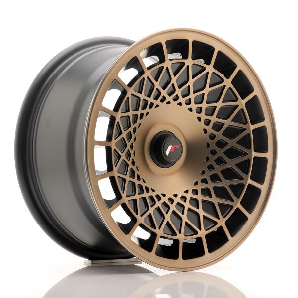 JR Wheels JR14 15x8 ET20-25 BLANKBlackBronzFini