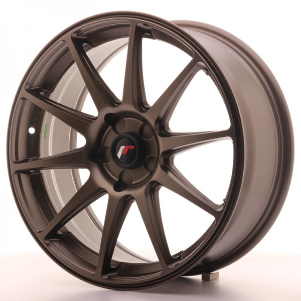 Japan Racing JR11 18x7,5 ET35-40 5H Blank Dark Bro