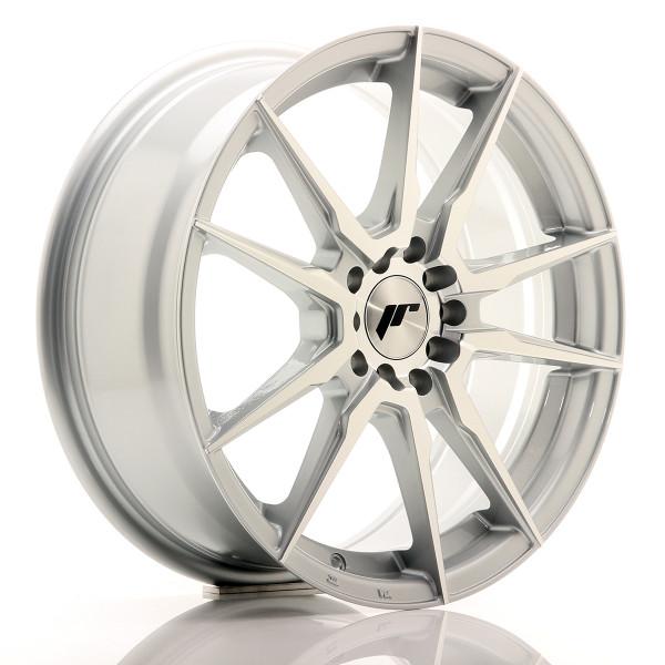 JR Wheels JR21 17x7 ET40 5x100/114 Silver Machined Face