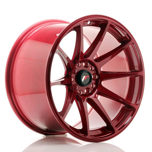 JR Wheels JR11 18x10,5 ET22 5x114/120 Platinum Red