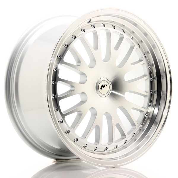 JR Wheels JR10 19x9,5 ET20-35 BLANK Silver Machined Face
