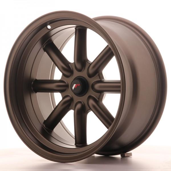 JR Wheels JR19 17x9 ET-25-(-10) BLANK MatBronze