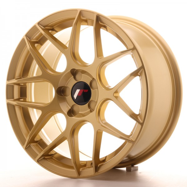 Japan Racing JR18 17x8 ET35 5H Blank Gold