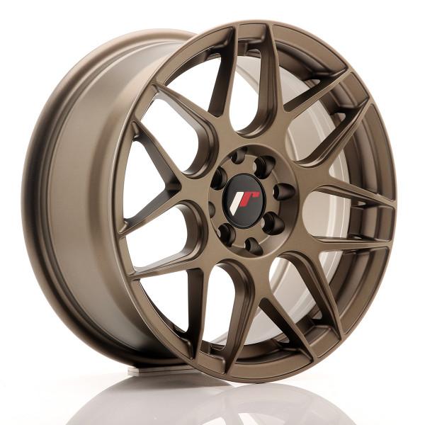 JR Wheels JR18 16x7 ET35 4x100/114,3 Matt Bronze