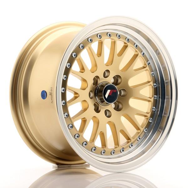 JR Wheels JR10 15x8 ET15 4x100/114 Gold