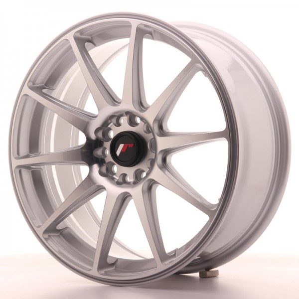 JR Wheels JR11 18x7,5 ET35 5x100/120 Silver Machined Face