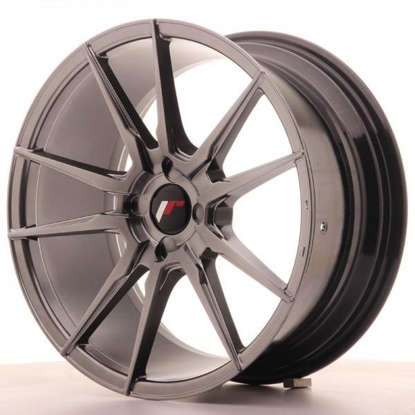 JR Wheels JR21 18x8,5 ET30-40 4H BLANK Hyper Black