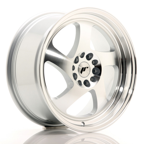 JR Wheels JR15 17x8 ET35 5x100/114 Silver Machined Face