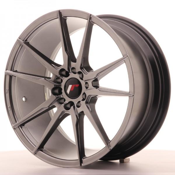 JR Wheels JR21 18x8,5 ET40 5x112/114 Hyper Black