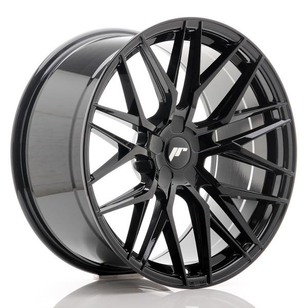 JR Wheels JR28 20x10 ET20-40 5H BLANK Gloss Black